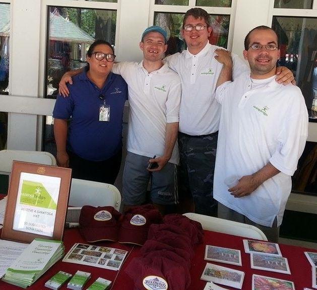 Saratoga Race Course Community Outreach Booth