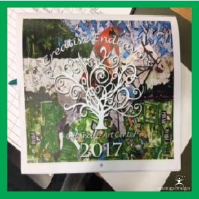 Creative Endeavors 2017 calendars