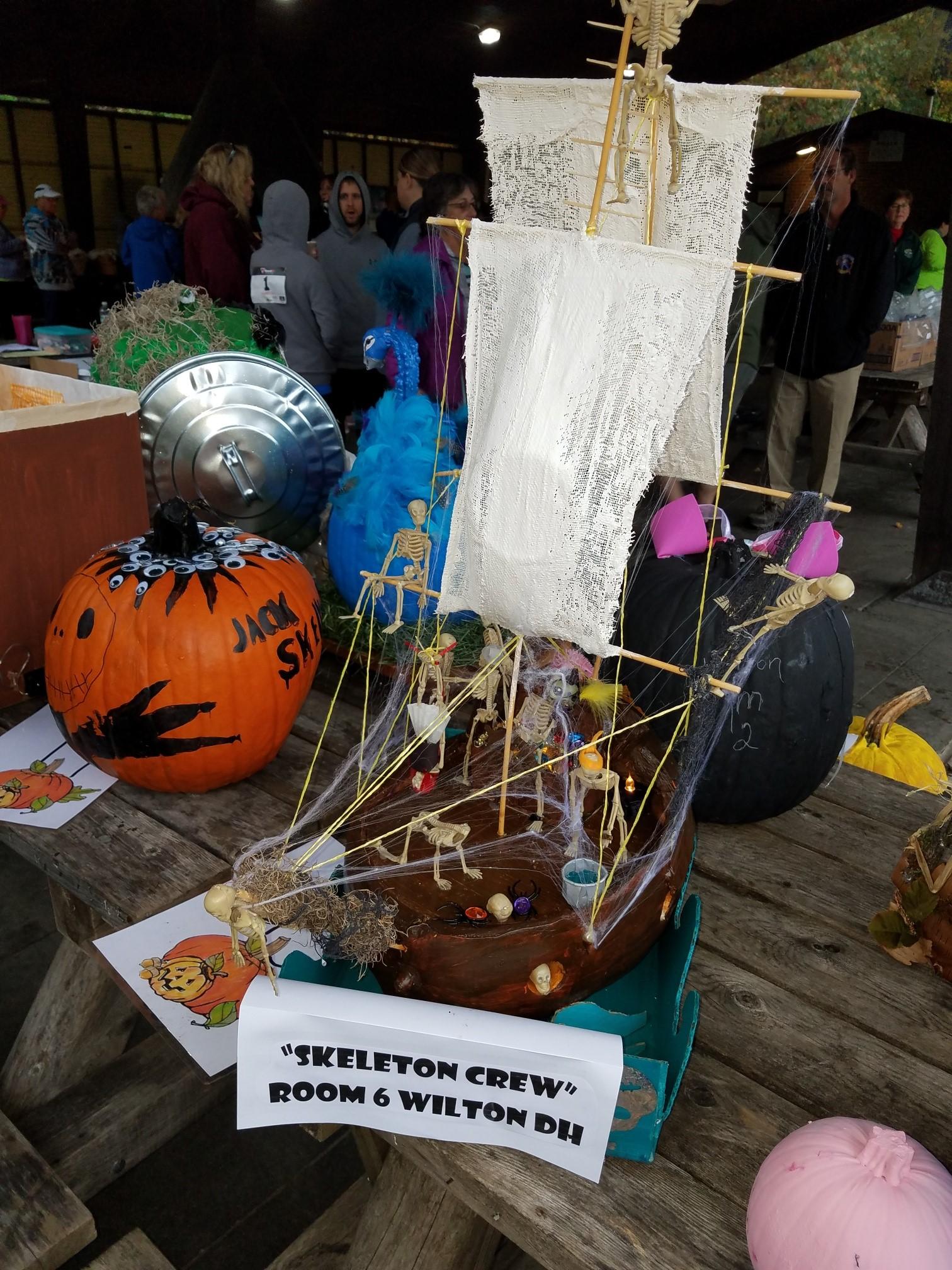 Wilton 6 1st place Skeleton CrewPirate Ship
